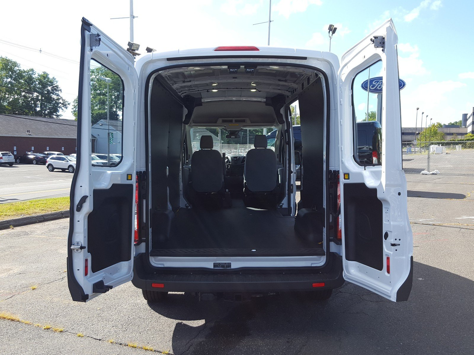 2017 Transit 350 Medium Roof Cargo Van #Q7876 - photo 16
