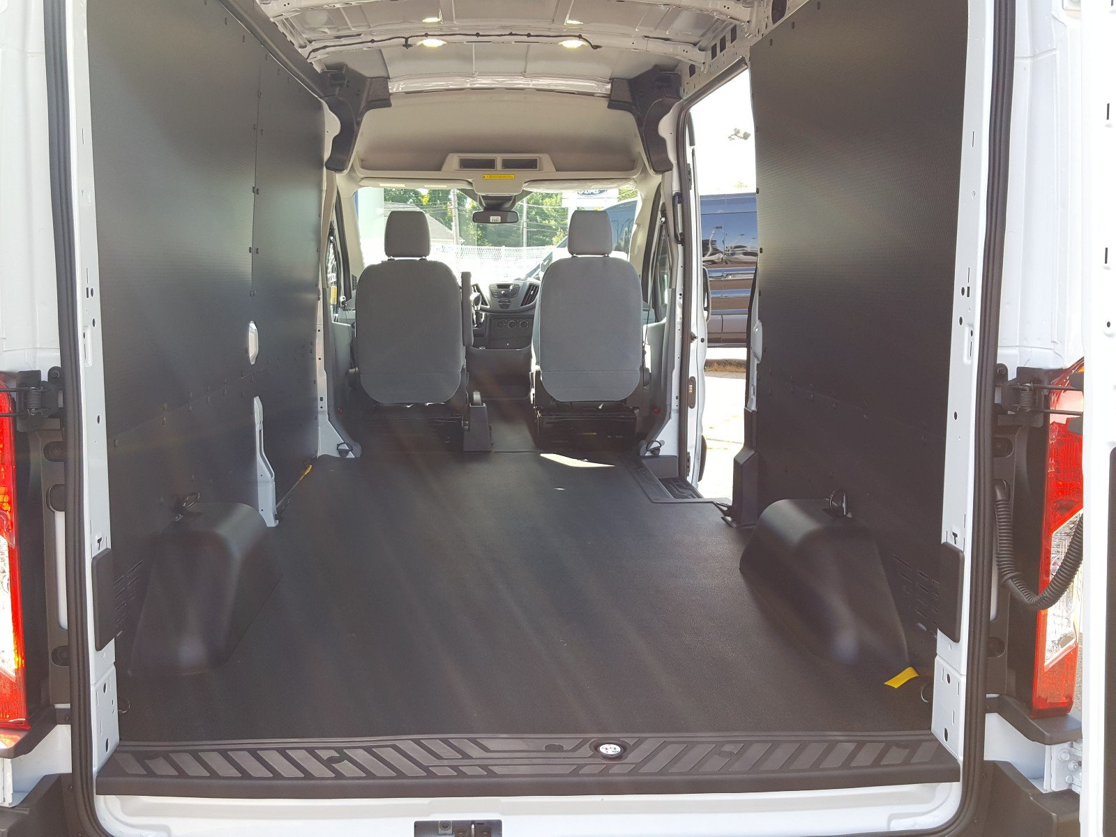 2017 Transit 350 Medium Roof Cargo Van #Q7876 - photo 2