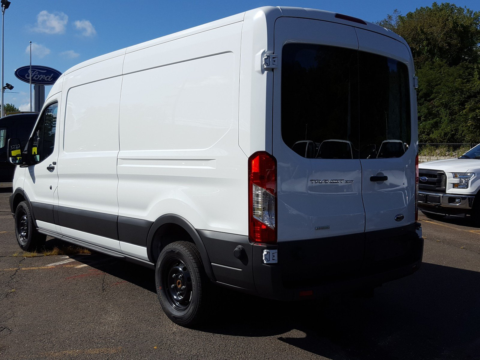 2017 Transit 350 Medium Roof Cargo Van #Q7876 - photo 4