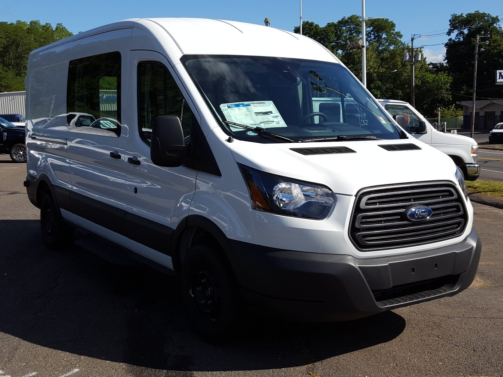 2017 Transit 350 Medium Roof Cargo Van #Q7876 - photo 8