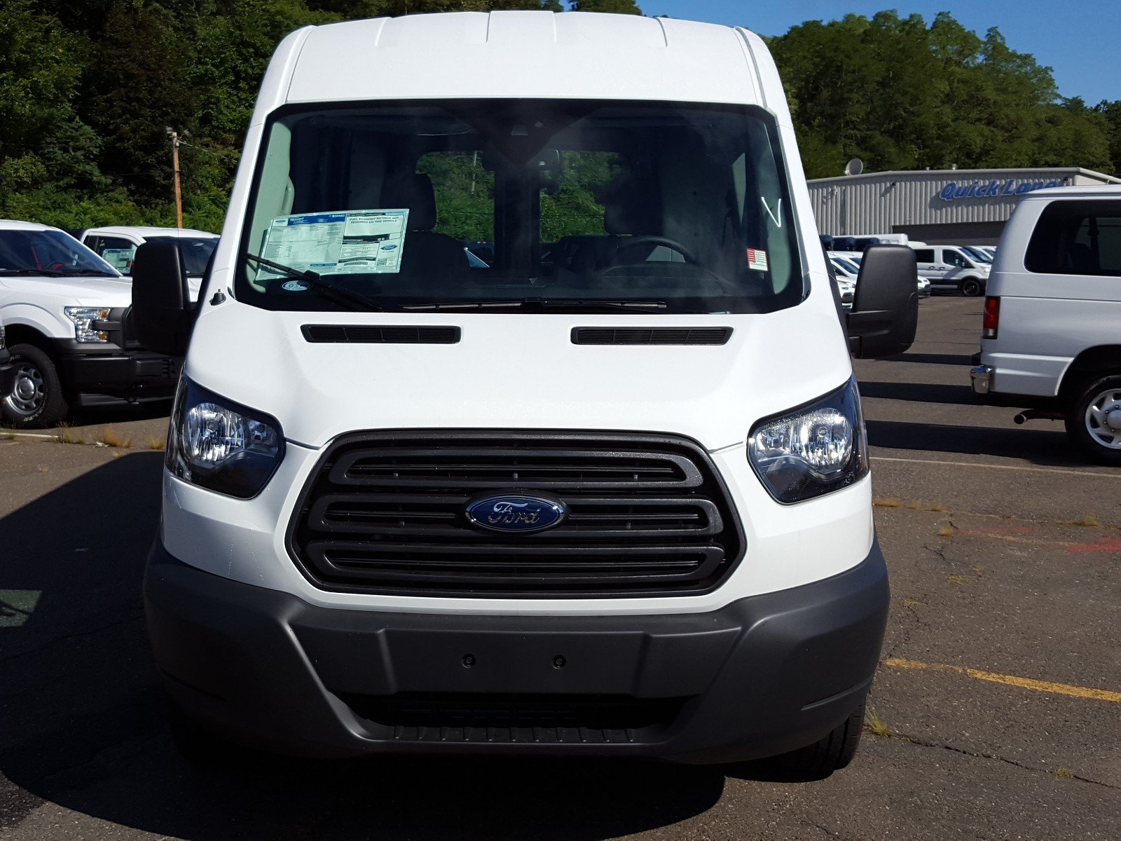 2017 Transit 350 Medium Roof Cargo Van #Q7876 - photo 9