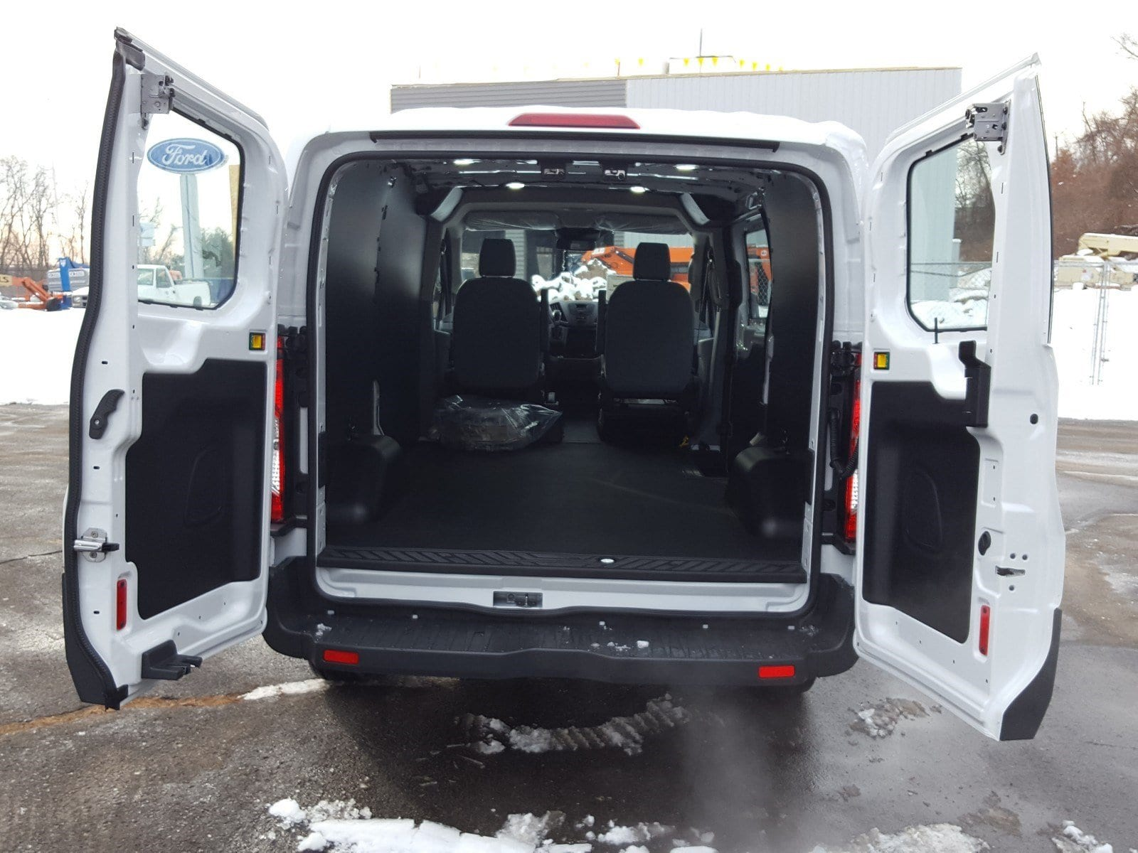 2018 Transit 250 Low Roof 4x2,  Empty Cargo Van #R7252 - photo 11