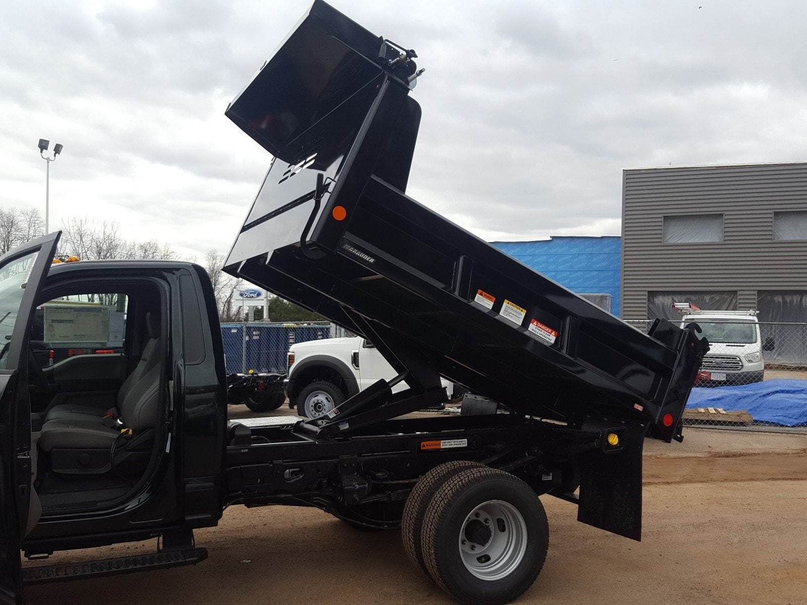 2018 F-350 Regular Cab DRW 4x4,  Reading Dump Body #R7412 - photo 14