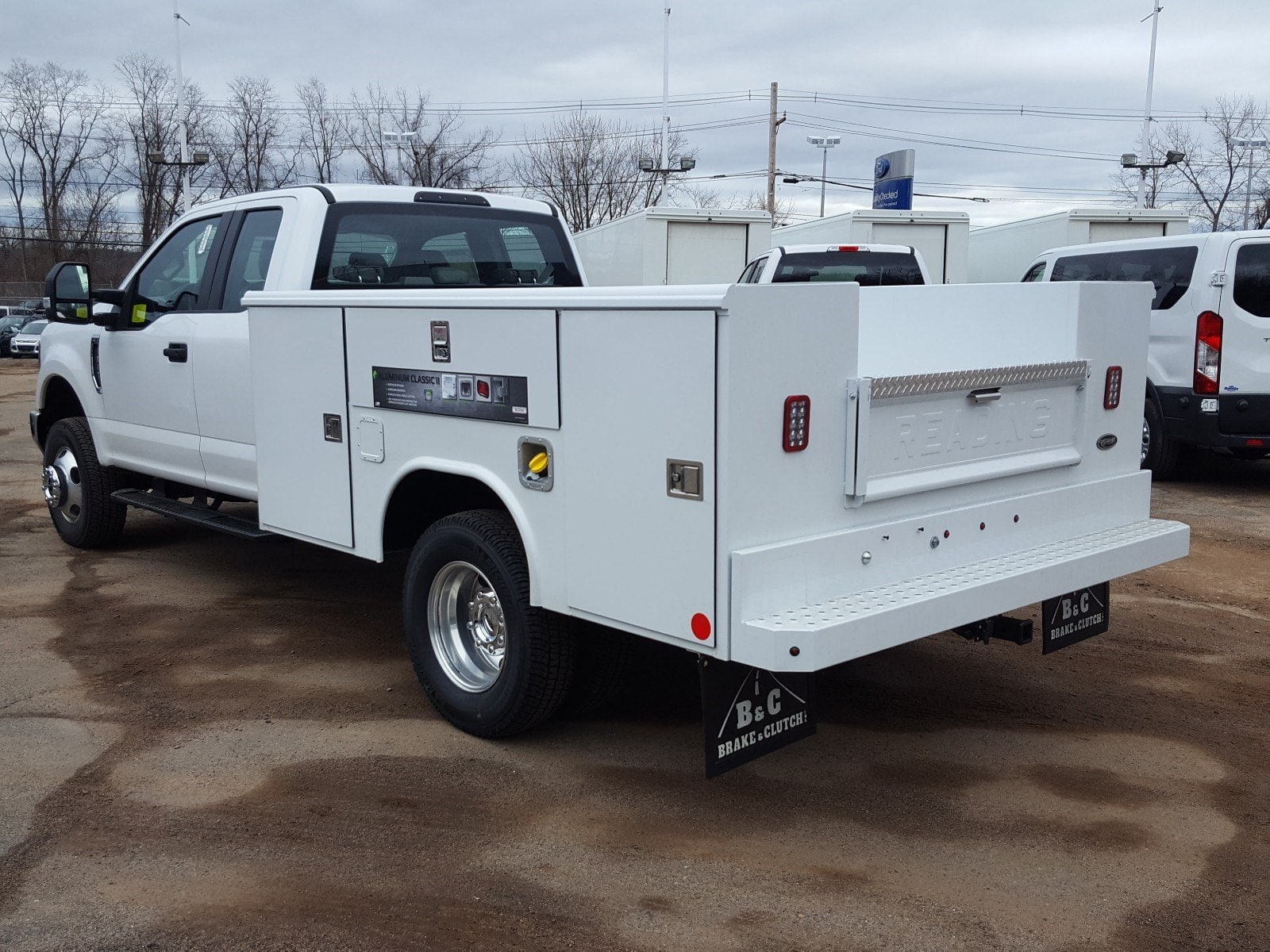 2018 F-350 Super Cab DRW 4x4,  Reading Service Body #R7508 - photo 4