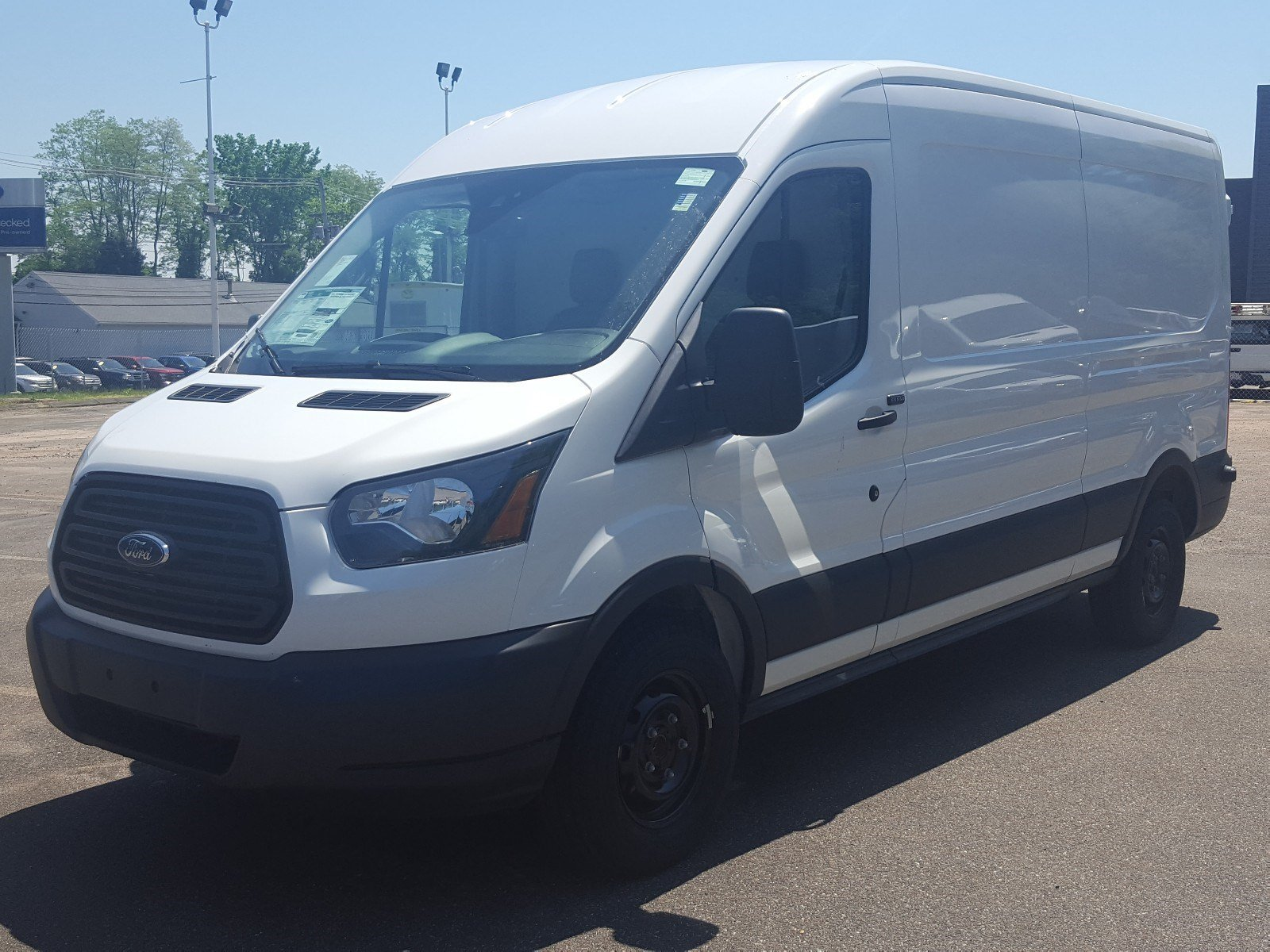 2018 Transit 250 Med Roof 4x2,  Thermo King Services Inc Refrigerated Body #R7545 - photo 6