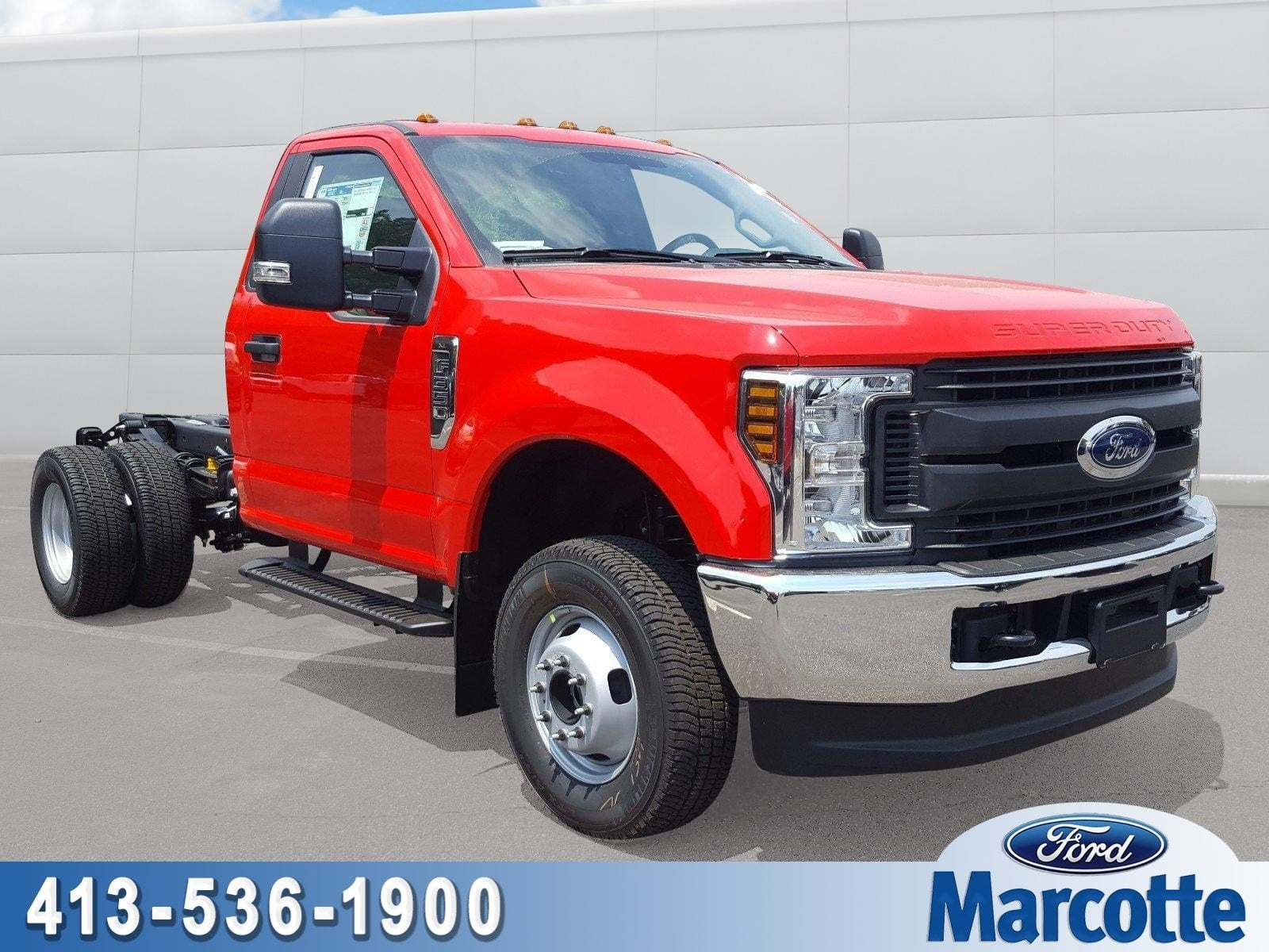 2018 F-350 Regular Cab DRW 4x4,  Cab Chassis #R7672 - photo 1