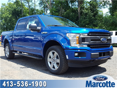 2018 F-150 SuperCrew Cab 4x4,  Pickup #R7755 - photo 1