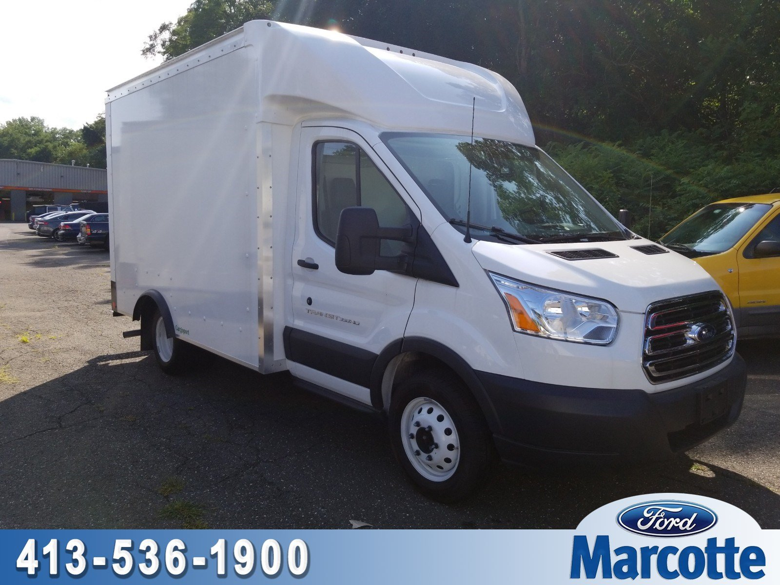 2018 Transit 350 HD DRW 4x2,  Rockport Cargoport Cutaway Van #R7781 - photo 1