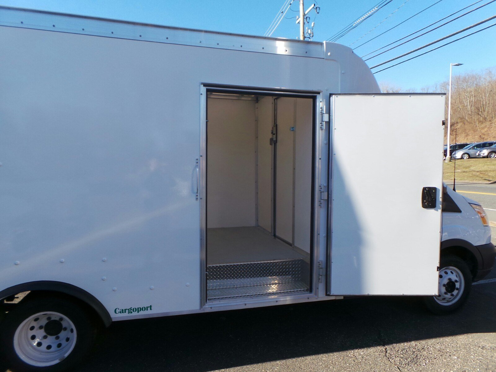 2018 Transit 350 HD DRW 4x2,  Rockport Cargoport Cutaway Van #RT183 - photo 8