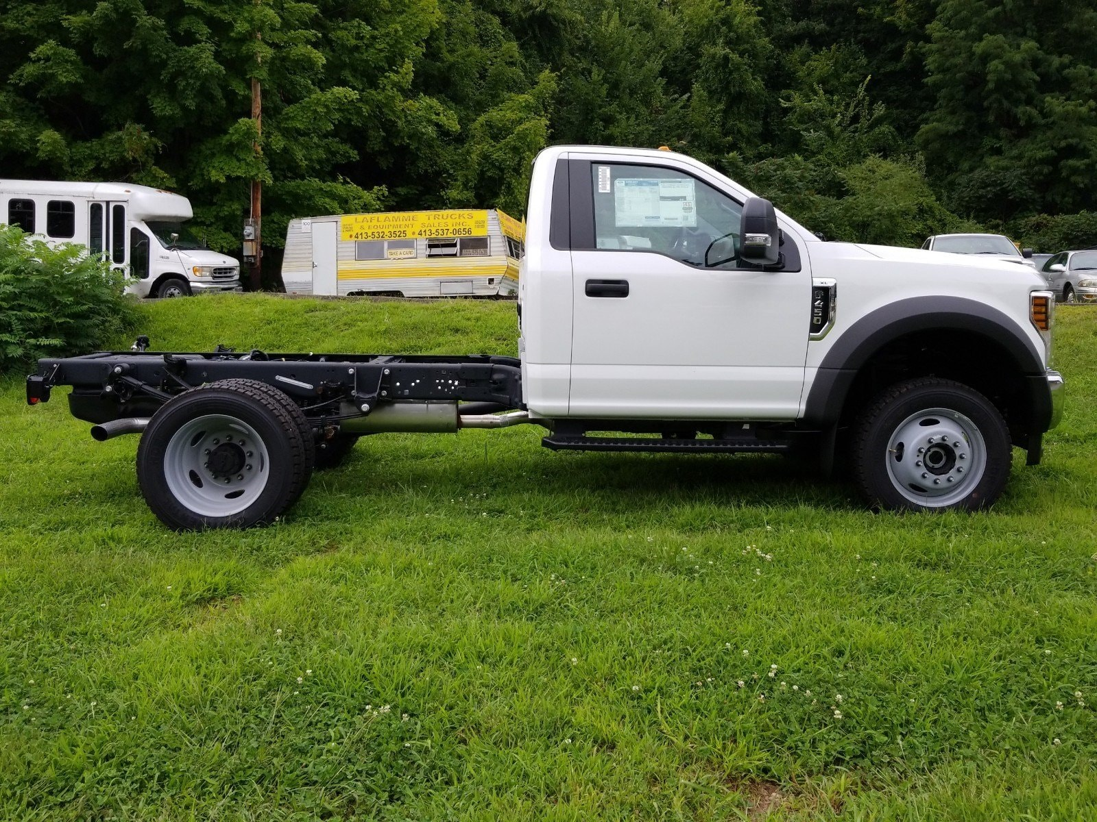 2019 F-450 Regular Cab DRW 4x4,  Cab Chassis #S7006 - photo 12