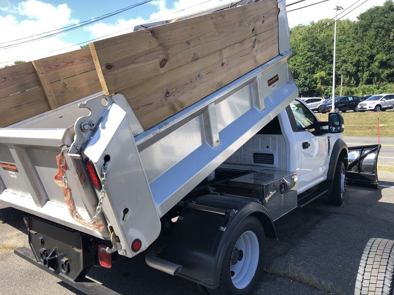 2019 F-450 Regular Cab DRW 4x4,  DownEaster Dump Body #S7030 - photo 1