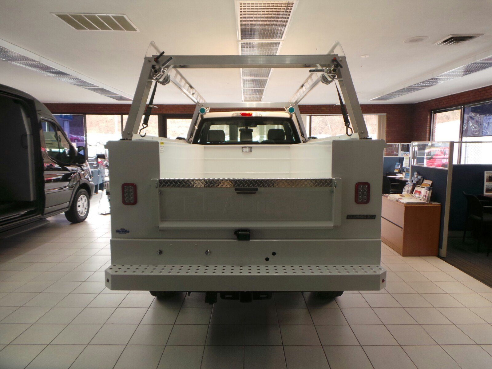 2019 F-350 Regular Cab 4x4,  Reading Classic II Aluminum  Service Body #S7183 - photo 3