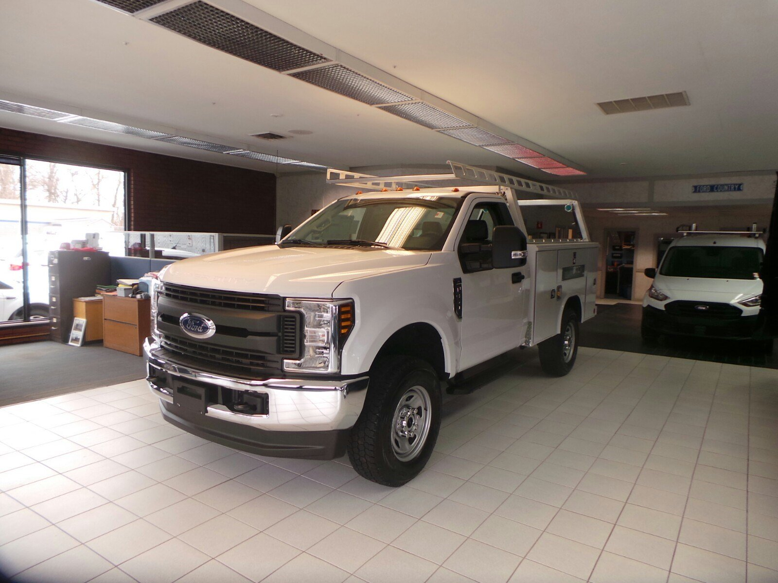 2019 F-350 Regular Cab 4x4,  Reading Classic II Aluminum  Service Body #S7183 - photo 5