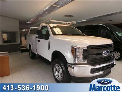 2019 F-350 Regular Cab 4x4,  Reading Classic II Aluminum  Service Body #S7183 - photo 1