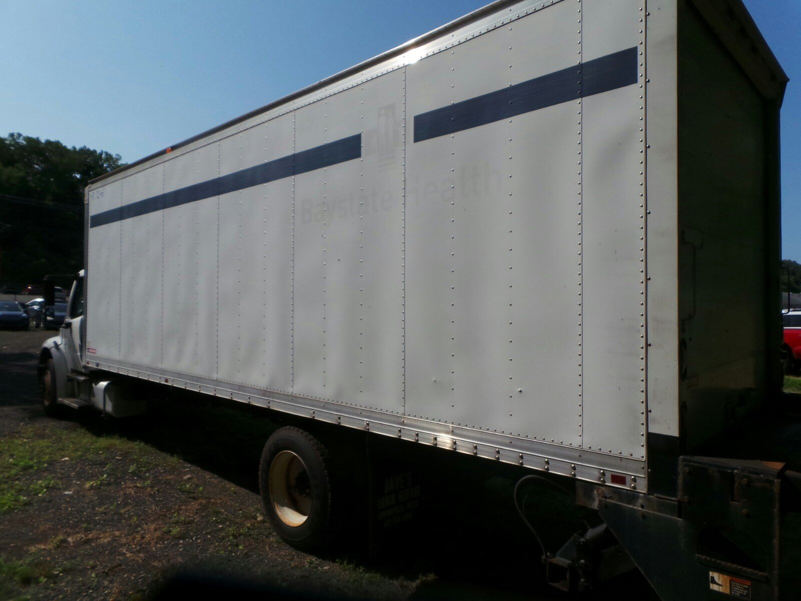 2010 Freightliner Truck 4x2,  Morgan Dry Freight #S7268A - photo 2