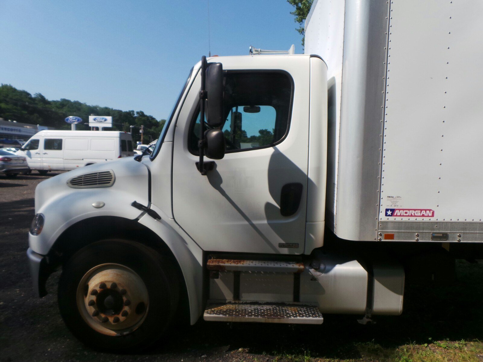 2010 Freightliner Truck 4x2,  Morgan Dry Freight #S7268A - photo 7