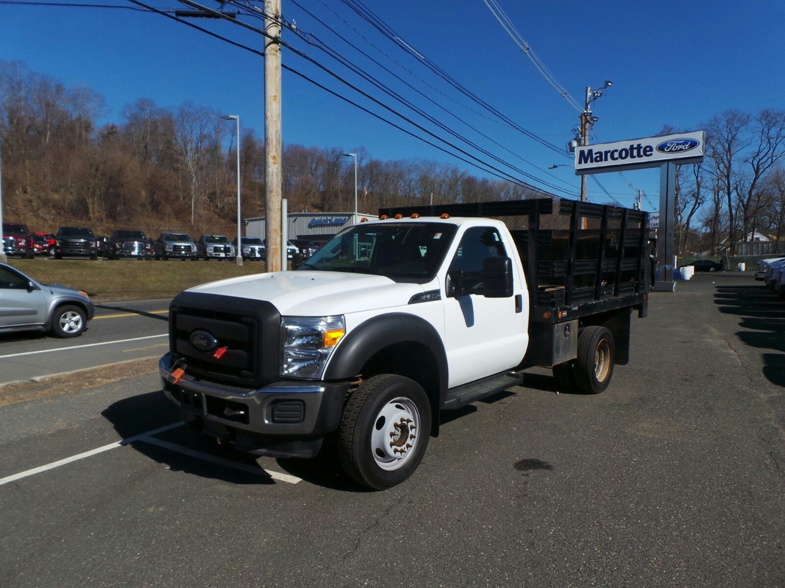 2013 F-550 Regular Cab DRW 4x4,  Stake Bed #S7418A - photo 5