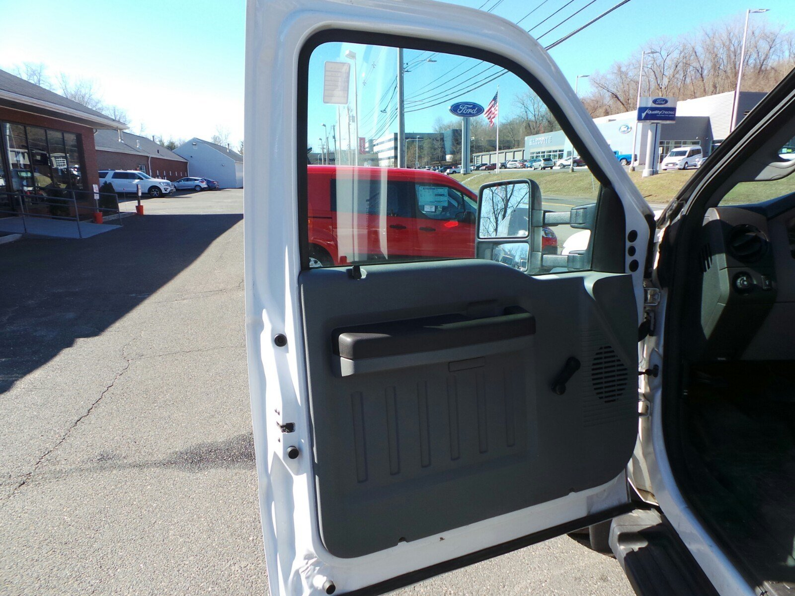 2013 F-550 Regular Cab DRW 4x4,  Stake Bed #S7418A - photo 6
