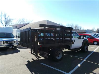 2013 F-550 Regular Cab DRW 4x4,  Stake Bed #S7418A - photo 2