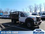 2013 F-550 Regular Cab DRW 4x4,  Stake Bed #S7418A - photo 1