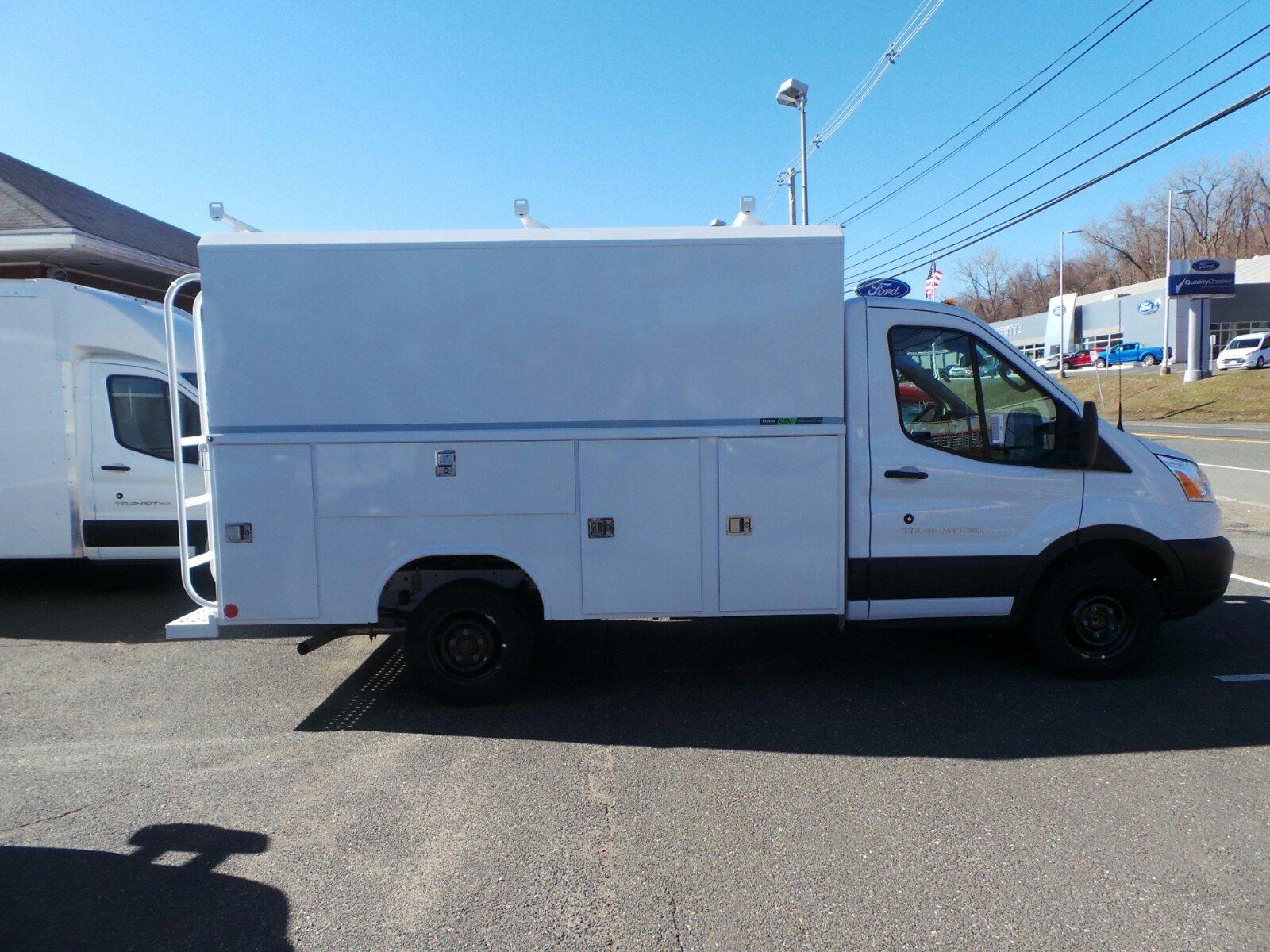 2019 Transit 350 4x2,  Reading Aluminum CSV Service Utility Van #S7648 - photo 3