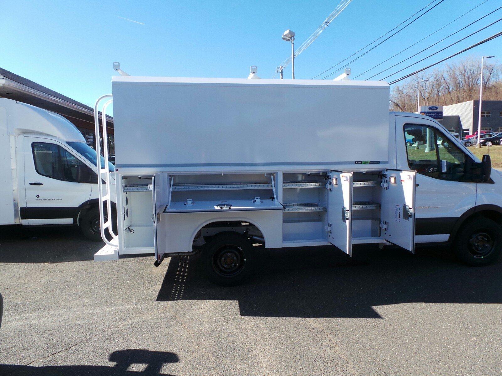 2019 Transit 350 4x2,  Reading Aluminum CSV Service Utility Van #S7648 - photo 6