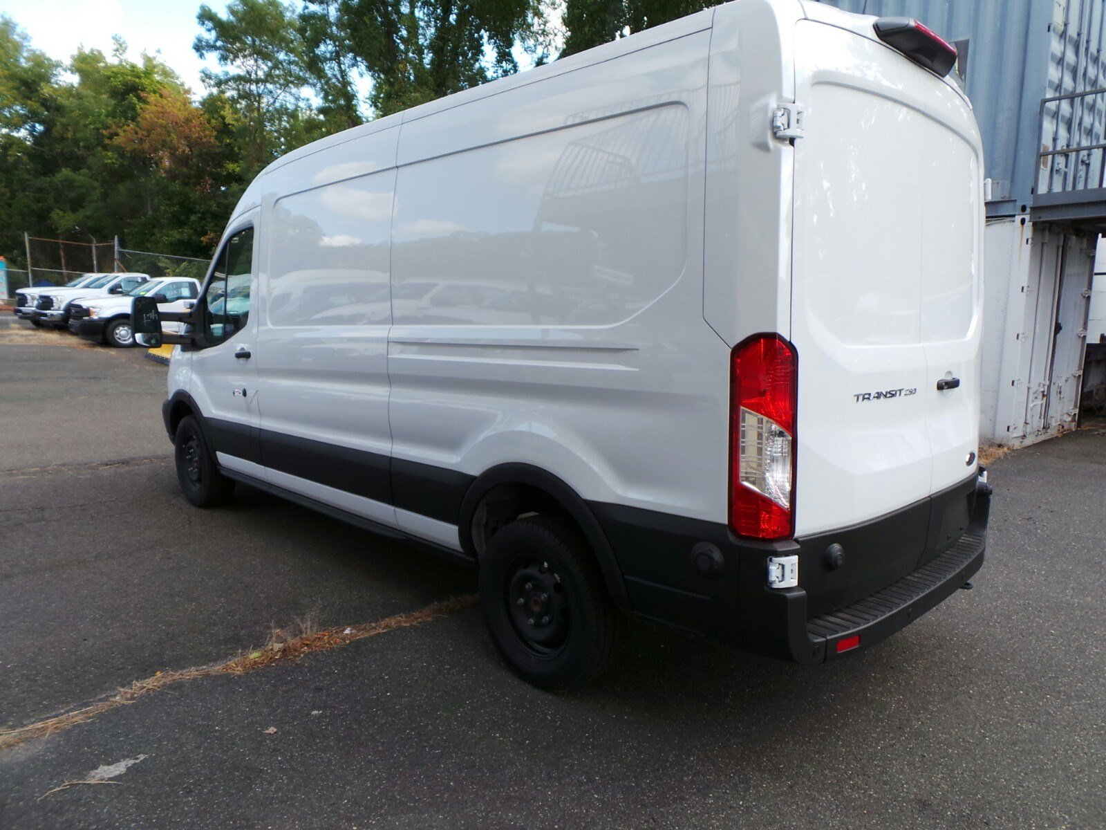 2019 Transit 250 Med Roof 4x2,  Ranger Design Upfitted Cargo Van #S7973 - photo 4