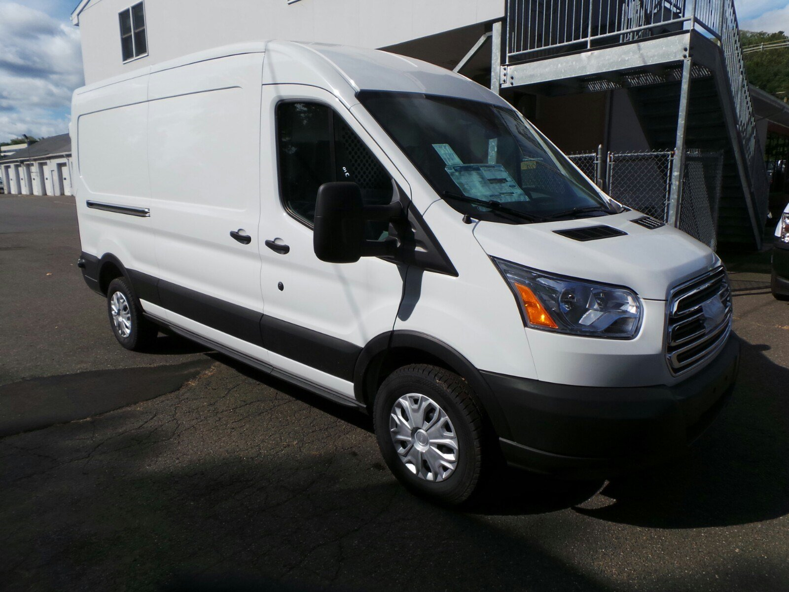 2019 Transit 250 Med Roof 4x2,  Ranger Design Upfitted Cargo Van #S7973 - photo 8