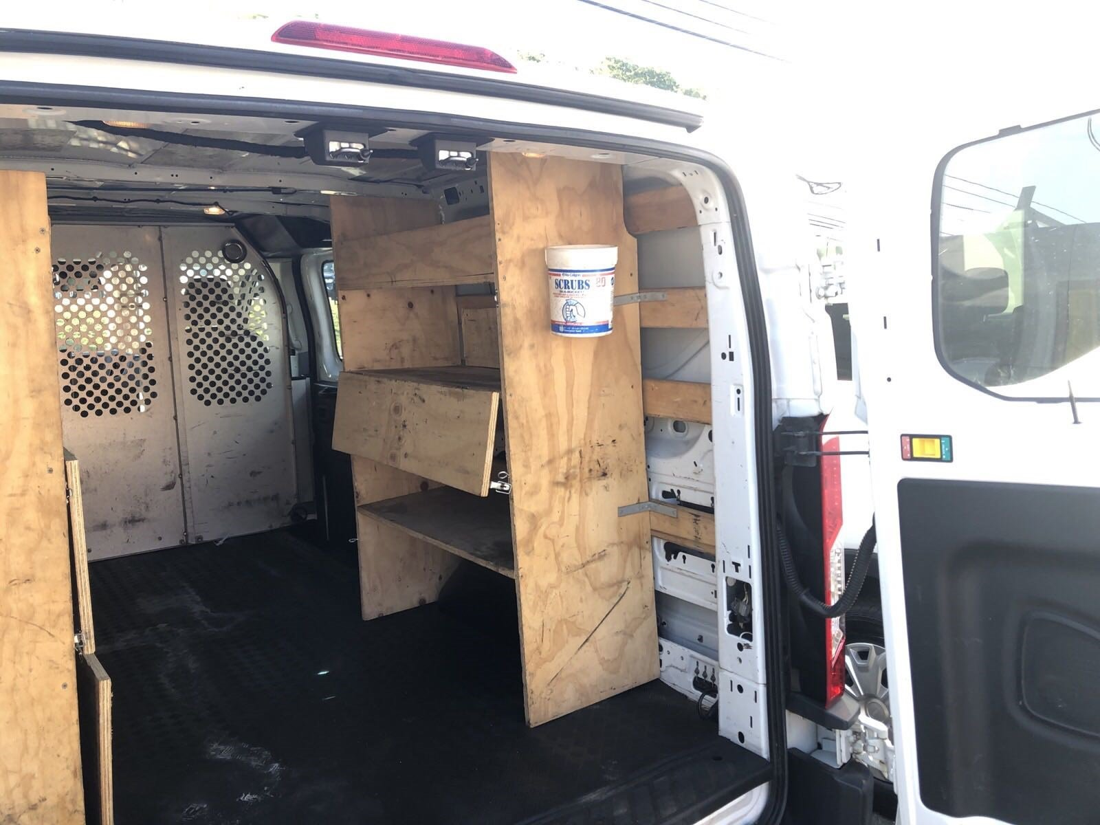 2016 Transit 250 Low Roof 4x2,  Upfitted Cargo Van #ST007A - photo 7