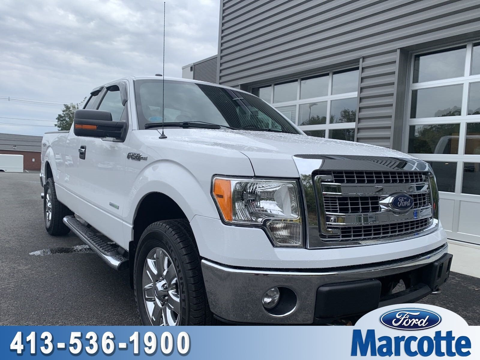 2013 F-150 Super Cab 4x4,  Pickup #ST020A - photo 1