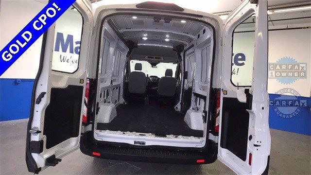 2019 Ford Transit 250 Med Roof 4x2, Empty Cargo Van #TK008A - photo 1
