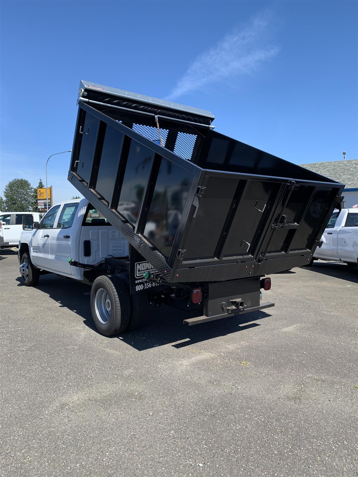 2019 Chevrolet Silverado 3500 Crew Cab DRW 4x2, Monroe Landscape Dump #K3761T - photo 1
