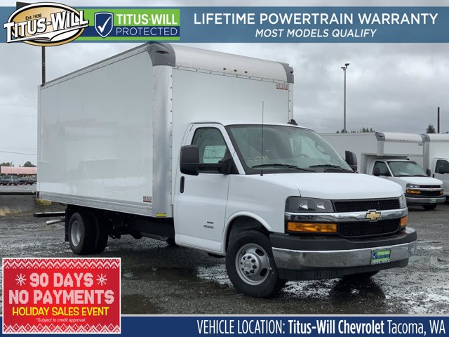 2019 Chevrolet Express 4500 DRW 4x2, Supreme Cutaway Van #K3823 - photo 1