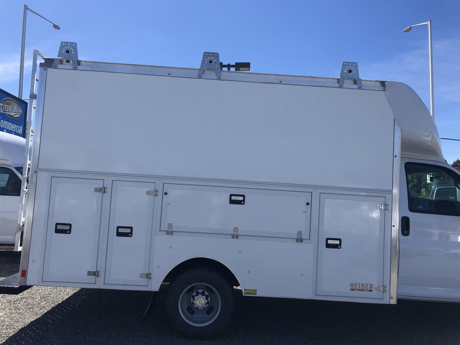 2020 Chevrolet Express 3500 RWD, Supreme Spartan Service Utility Van #K3963 - photo 4