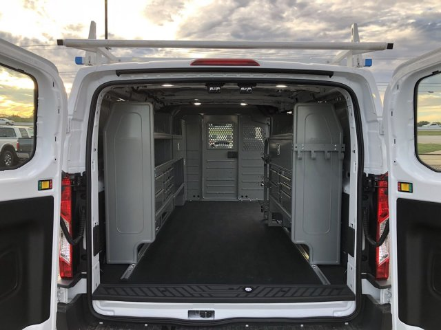 2018 Transit 350 Low Roof 4x2,  Upfitted Cargo Van #182221 - photo 2