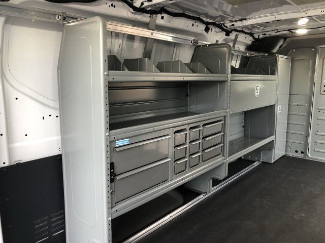 2018 Transit 350 Low Roof 4x2,  Upfitted Cargo Van #182221 - photo 7