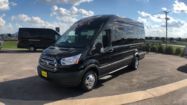 2018 Transit 350 HD High Roof DRW 4x2,  Passenger Wagon #182768 - photo 4