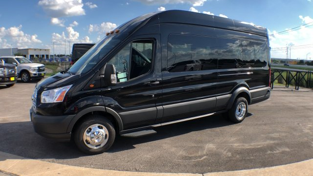 2018 Transit 350 HD High Roof DRW 4x2,  Passenger Wagon #182768 - photo 3