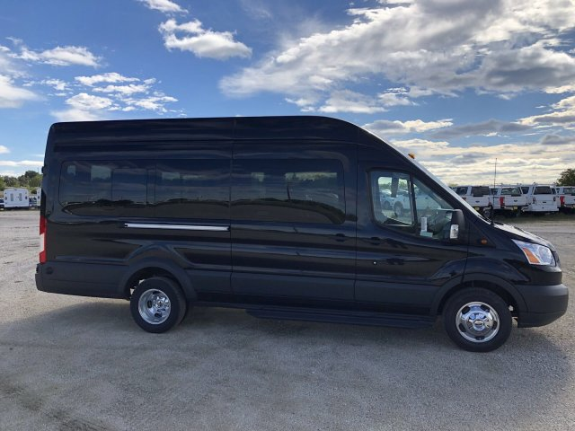 2018 Transit 350 HD High Roof DRW 4x2,  Passenger Wagon #182768 - photo 8