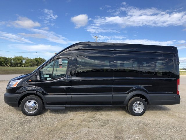 2018 Transit 350 HD High Roof DRW 4x2,  Passenger Wagon #182839 - photo 3