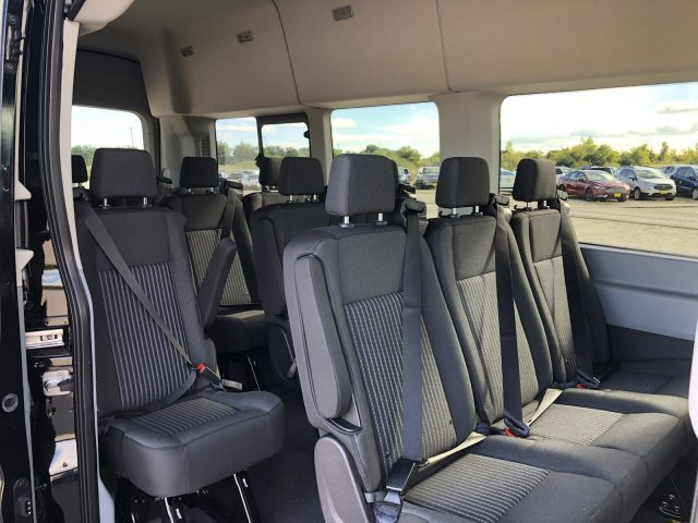 2018 Transit 350 HD High Roof DRW 4x2,  Passenger Wagon #182839 - photo 9