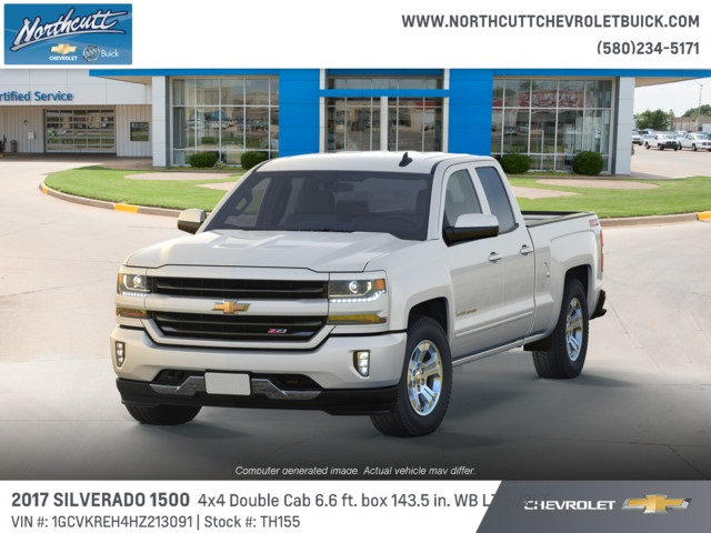 2017 Silverado 1500 Double Cab 4x4 Pickup #TH155 - photo 1