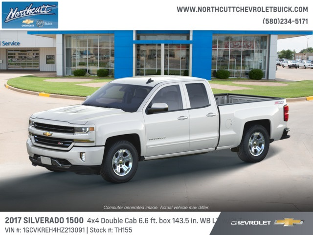 2017 Silverado 1500 Double Cab 4x4 Pickup #TH155 - photo 3