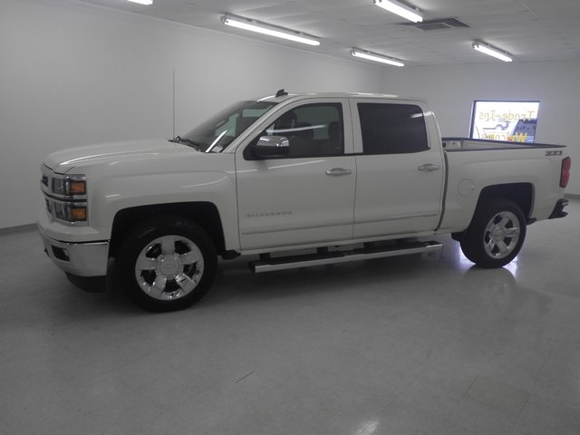 2014 Silverado 1500 Crew Cab 4x4, Pickup #TH169A - photo 4