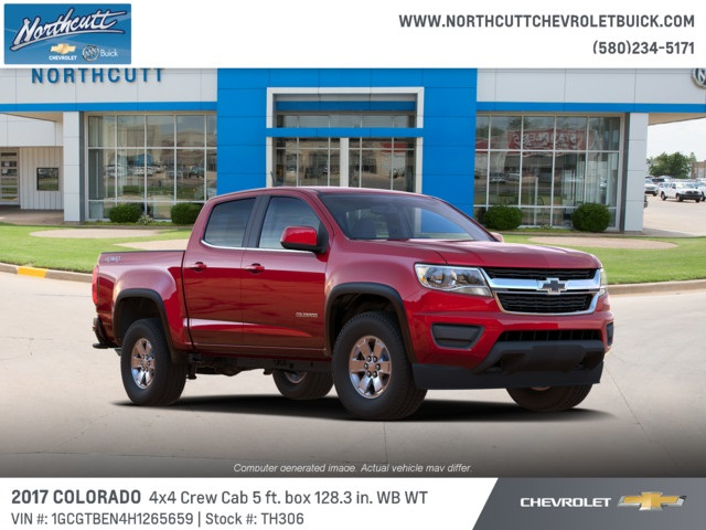 2017 Colorado Crew Cab 4x4, Pickup #TH306 - photo 1