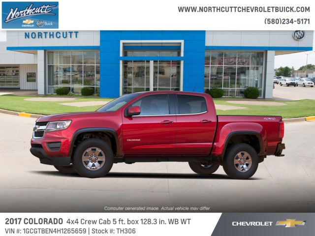 2017 Colorado Crew Cab 4x4, Pickup #TH306 - photo 4
