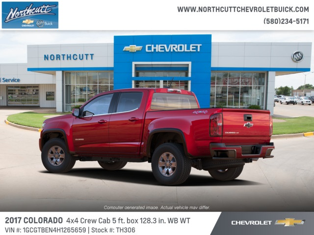 2017 Colorado Crew Cab 4x4, Pickup #TH306 - photo 3