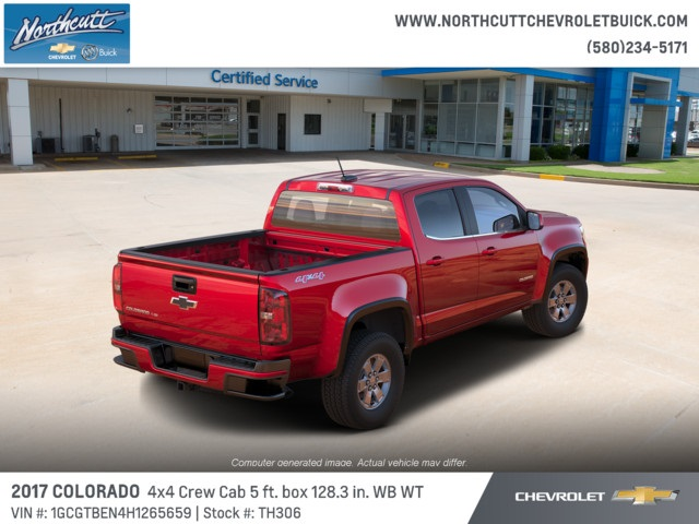 2017 Colorado Crew Cab 4x4, Pickup #TH306 - photo 2