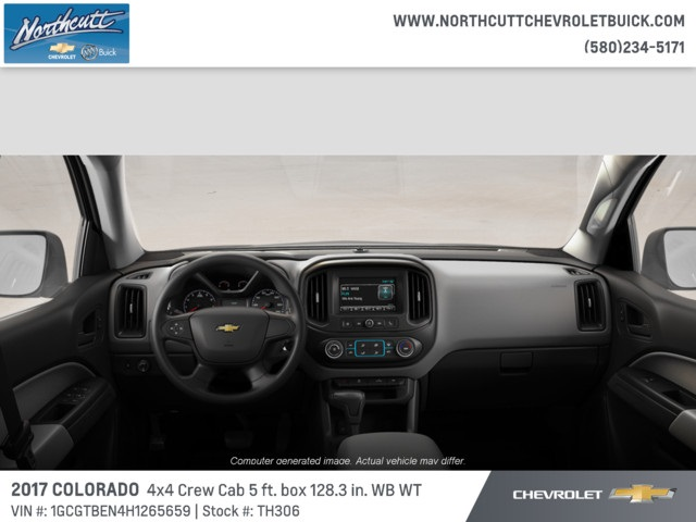 2017 Colorado Crew Cab 4x4, Pickup #TH306 - photo 5