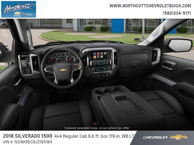 2018 Silverado 1500 Regular Cab 4x4, Pickup #TJ070 - photo 5